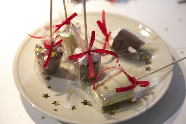 Schokolade am Stiel DIY